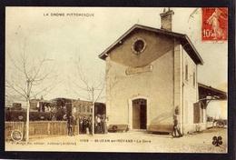 St-JEAN-en-ROYANS - La GARE - Tirage Photo D'une Carte Postale Ancienne - - France