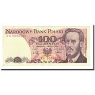 Billet, Pologne, 100 Zlotych, 1988-12-01, KM:143e, SPL - Pologne