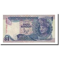 Billet, Malaysie, 1 Ringgit, Undated (1989), KM:27b, TTB - Malaysie