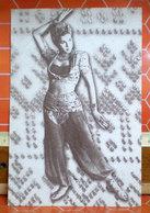 Donna Danza Orientale  Cartolina  Pubblicità - Mujeres