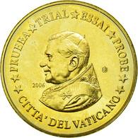 Vatican, Médaille, 10 C, Essai-Trial Benoit XVI, 2006, FDC, Copper-Nickel Gilt - Jetons & Médailles