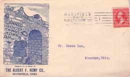 USA - BUSINESS LETTER 1903 MANSFIELD, OHIO -> WOOSTER, OHIO - Briefe U. Dokumente