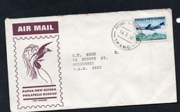 1970 PAPUA & NEW GUINEA PORT MORESBY, T.P & N.G. Postmarked 16.7.70 On AIR MAIL BIRD OF PARDISE Cover To NSW - Papouasie-Nouvelle-Guinée