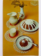 #516  Food And Drink, The Recipe Is On The Back -  Russian Card 1982 - Recipes (cooking)