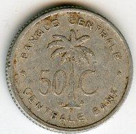 Congo Ruanda 50 Centimes 1955 KM 2 - 1951-1960: Baudouin I