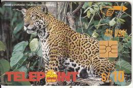 PERU - Jaguar(blank Reverse), Used - Peru