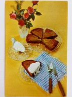 #517  Food And Drink, The Recipe Is On The Back -  Russian Card 1982 - Recipes (cooking)