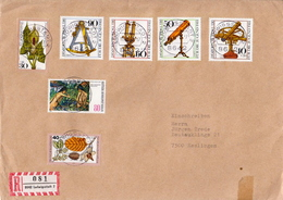 Germany R Cover With Full Set - Astronomy