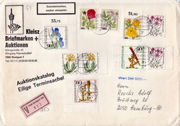 Germany V Cover With Flowers Stamps - Astronomy