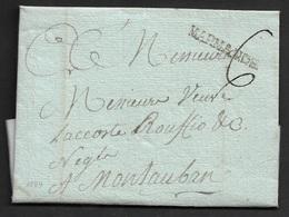 1789 - LAC - MARMANDE 31mm X 4mm (LOT ET GARONNE) A MONTAUBAN - 1701-1800: Précurseurs XVIII