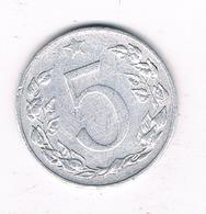 5 HALLER 1953 TSJECHOSLOWAKIJE /0282// - Tchécoslovaquie