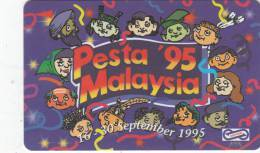 MALAYSIA(GPT) - Malaysia Festival 1995 1, CN : 39USBA/B, Used - Malaysia
