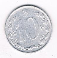 10 HALLER 1956 TSJECHOSLOWAKIJE /0284// - Tchécoslovaquie