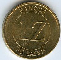 Zaire 1 Zaire 1987 KM 13 - Zaïre (1971-97)