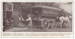 1908 - Iconographie -  Clermont (Oise) Le Transport Des Cassis - Ferme Fruitière Jules Labitte - FRANCO DE PORT - Alte Papiere