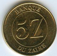 Zaire 5 Zaires 1987 KM 14 - Zaïre (1971-97)