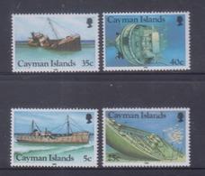 Cayman Islands 1985 Shipwrecks MNH - Iles Caïmans