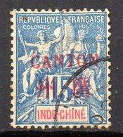 Col11  Canton N° 7 Oblitéré : 7,50 Euros - Oblitérés