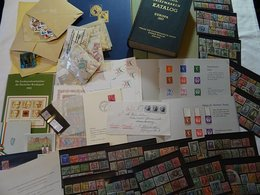 Lot With World Stamps - Vrac (min 1000 Timbres)