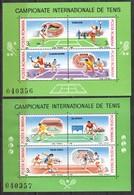 Rumänien; 1988; Michel Block 244 Und 245 **; Tennis Grand Slam - 1948-.... Republics