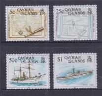 Cayman Islands 1989 Island Survey, Maps MNH - Iles Caïmans