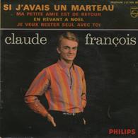 Disque 45 Tours  CLAUDE FRANCOIS - Année 1963 - Disco, Pop