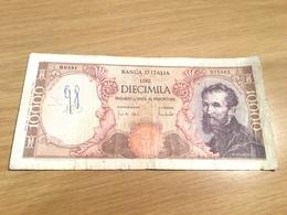 Un Billet De 10000 Lires Italie 1962 - [ 2] 1946-… : Républic