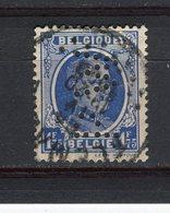 BELGIQUE - Y&T N° 257° - Albert 1er - Perfin - Perforé - 1909-34