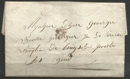 (D152) Lettre De ST JORIS (pas De Marque Postale) Vers Gand De 1807 - 1794-1814 (Période Française)