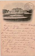 """Cpa 13 XIXè S. MARSEILLE  Château Borély , Belle Carte Précurseur """"nuage"""" De 1897 - Parcs Et Jardins"""