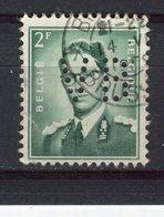 BELGIQUE - Y&T N° 1066° - Baudouin 1er - Perfin - Perforé - 1951-..