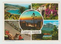 02.96 ? -  AK/CP/Postcard (Mehrbildkarte)  Spanien/Kanaren/Tenerifa - Gelaufen - Siehe Scans (esp 004) - Tenerife
