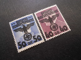 D.R.Mi 15/16**/MNH - Generalgouvernement 1940 - Mi 2,50 € - Occupation 1938-45