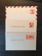 USA Birds Postal Stationery PSC X 3  Eagles 4c 5c 6c Mint - Birds