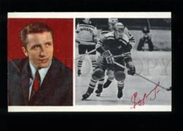 137343 Alexander YAKUSHEV Soviet Ice Hockey Player - FACSIMILE - Cartes Postales