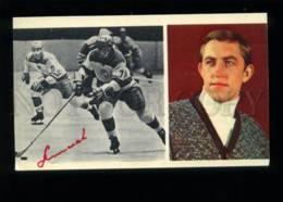 137369 Boris MIKHAYLOV Soviet Ice Hockey Player - FACSIMILE - Cartes Postales