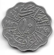 *irak 10 Fils 1931 Km 98    Fr+ - Iraq