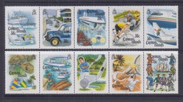 Cayman Islands 1993 Tourism, Turtle, Diving, Golf, Tennis, Cycling, Motorbike, Submarine, Cars Etc MNH - Iles Caïmans