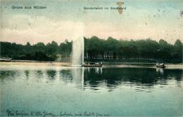 HILDEN GONDELTEICH Im Stadt Wald - Hilden