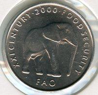Somalie Somalia 5 Shilling Scellini 2000 FAO Elephant UNC KM 45 - Somalie