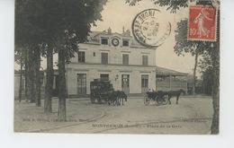 MONTGERON - Place De La Gare - Montgeron