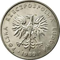 Monnaie, Pologne, 20 Zlotych, 1989, Warsaw, TTB, Copper-nickel, KM:153.2 - Pologne