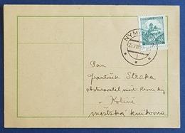 1939 Böhmen Und Mähren, Nymburk - Kolin, Koline, Germany - Brieven En Documenten