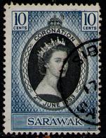 SARAWAK 1953 - Set Used - Sarawak (...-1963)