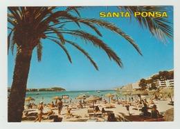 8.5.1989  -  AK/CP/Postcard  Spanien/Mallorca/Santa Ponsa  - Gelaufen - Siehe Scans (esp 005) - Tenerife