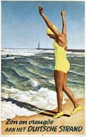 @@@ MAGNET - Zon En Vreugde Aan Het Duitsche Strand - Publicitaires