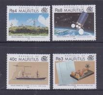 Mauritius 1993 Telecommunications MNH - Mauritanie (1960-...)