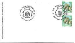 SG0005 - MARCOFILIA - ANNULLO PERGINE VALSUGANA - BANDA SOCIALE DI PERGINE - CENTO ANNI IN MUSICA - 22.04.2000 - 6. 1946-.. Repubblica