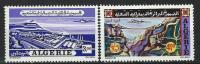 """Algerie Aerien YT 19 & 20 (PA) """" Vues """" 1972 Neuf** - Algérie (1962-...)"""