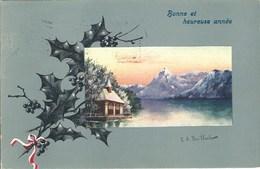 CPA Suisse * Bonne Et Heureuse Année * - Nouvel An